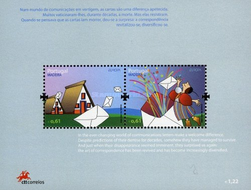 [EUROPA Stamps - Writing Letters, type ]