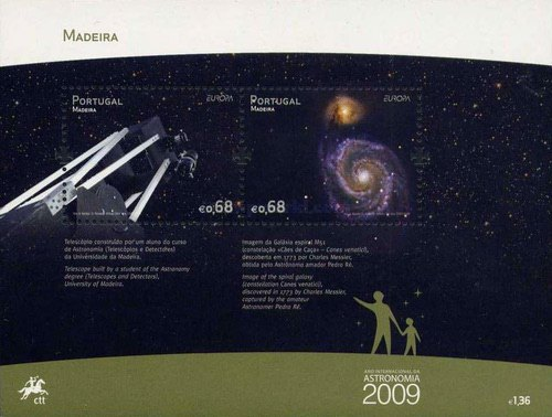 [EUROPA Stamps - Astronomy, Typ ]