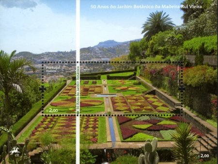 [The 50th Anniversary of the Madeira Botanical Garden, type ]