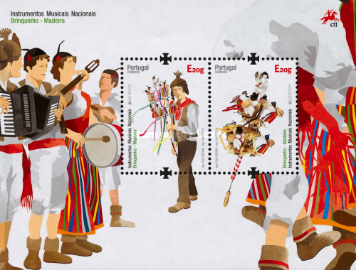 [EUROPA Stamps - Musical Instruments, type ]