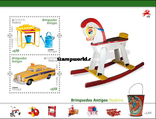 [EUROPA Stamps - Old Toys, Typ ]
