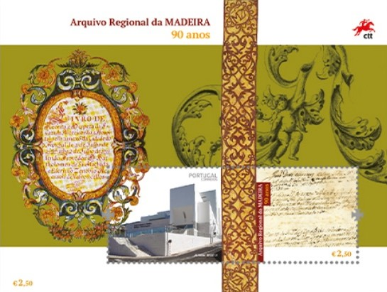[The 90th Anniversary of the Madeira Regional Archive, type ]