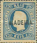 [King Luis I - Portuguese Postage Stamps Overprinted, MADEIRA, Typ A11]
