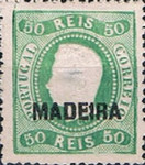 [King Luis I - Portuguese Postage Stamps Overprinted, MADEIRA, Typ A8]