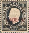 [King Luis I - Portuguese Postage Stamps Overprinted, MADEIRA, Typ B]
