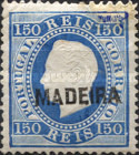 [King Luis I - Portuguese Postage Stamps Overprinted, MADEIRA, Typ B11]