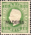 [Portuguese Postage Stamps Overprinted, MADEIRA, Typ B13]
