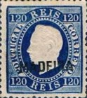 [King Luis I - Portuguese Postage Stamps Overprinted, MADEIRA, Typ B7]
