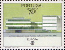 [EUROPA Stamps - Modern Architecture, type BZ]