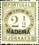 [Portuguese Stamp Overprinted, MADEIRA, Typ C]