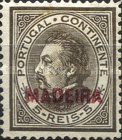 [Portuguese Postage Stamps Overprinted, MADEIRA, Typ D]