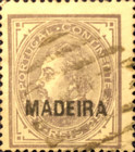 [Portuguese Postage Stamps Overprinted, MADEIRA, Typ D2]
