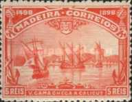 [The 400th Anniversary of the Vasco da Gama Discovering The Sea-Way to India, type F]