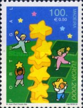 [EUROPA Stamps - Tower of 6 Stars, Typ FG]