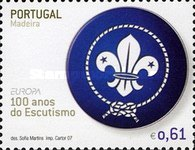 [EUROPA Stamps - The 100th Anniversary of Scouting, type JB]