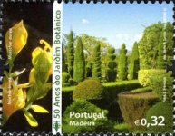 [The 50th Anniversary of the Madeira Botanical Garden, type JT]
