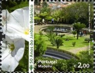 [The 50th Anniversary of the Madeira Botanical Garden, type JW]