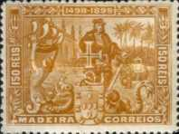 [The 400th Anniversary of the Vasco da Gama Discovering The Sea-Way to India, type L]
