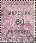"""[Cape of Good Hope Postage Stamps Surcharged & Overprinted """"MAFEKING BESIEGED"""", type A3]"""