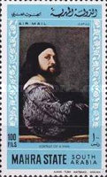 [Airmail - Paintings by Titian, type BZ]