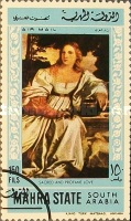 [Airmail - Paintings by Titian, type CA]