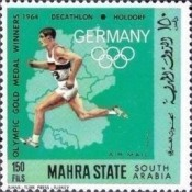 [Airmail - German Olympic Champions, type CQ]