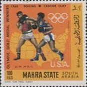 [Airmail - US Olympic Champions, type DF]