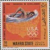 [Airmail - US Olympic Champions, type DG]