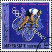 [Airmail - French Olympic Champions, type DN]