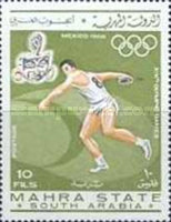 [Olympic Games - Mexico City 1968, Mexico, type O]