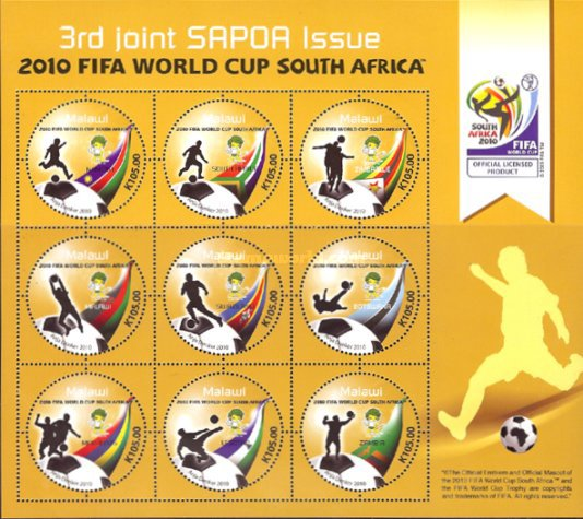 [Football World Cup - South Africa. The 3rd SAPOA Issue, type ]