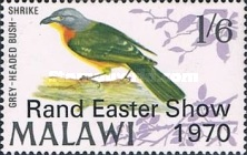 """[Rand Easter Show - Issue of 1968 Overprinted """"Rand Easter Show 1970"""", type CM]"""
