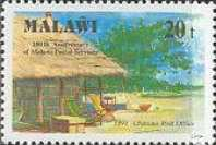 [The 100th Anniversary of Postal Services, type SJ]