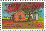 [The 100th Anniversary of Postal Services, type SK]