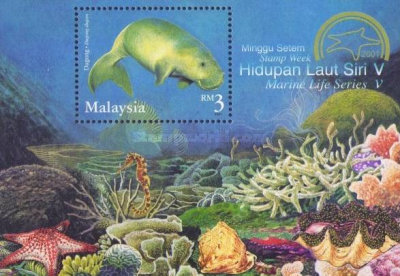 [Stamp Week - Endangered Marine Life, Typ ]