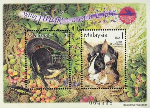 [Stamp Week - Wild and Domesticated Animals, Typ ]