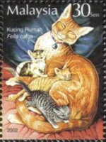 [Stamp Week - Wild and Domesticated Animals, Typ AON]
