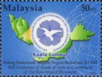 [The 13th Conference of Heads of State or Government of the Non-Aligned Movement, Kuala Lumpur, Typ AOZ]