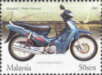 [Malaysian made Motorcycles and Scooters, Typ AQJ]