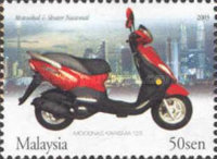 [Malaysian made Motorcycles and Scooters, Typ AQL]