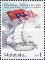 [The 30th Anniversary of Malaysia-China Diplomatic Relations, Typ ASA]