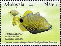[Marine Life - Joint Issue with Brunei, Typ AYZ]