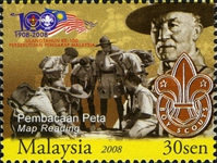 [The 100th Anniversary of Scouting in Malaysia, Typ BEE]