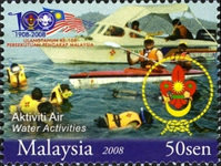 [The 100th Anniversary of Scouting in Malaysia, Typ BEG]