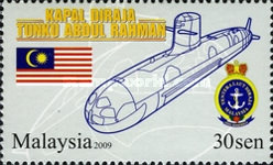 [The First Malaysian Submarine - Tanku Abdul Rahman, type BIB]