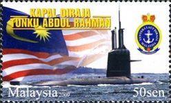[The First Malaysian Submarine - Tanku Abdul Rahman, type BIC]