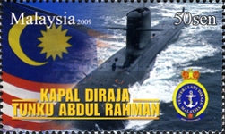 [The First Malaysian Submarine - Tanku Abdul Rahman, type BID]
