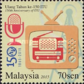 [The 150th Anniversary of the ITU - International Telecommunication Union, Typ CAX]