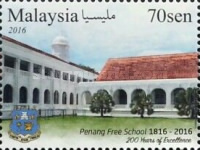 [The 200th Anniversary of the Penang Free School, Typ CEW]