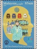 [The 100th Anniversary of the Malaysian Girl Guides, Typ CFF]
